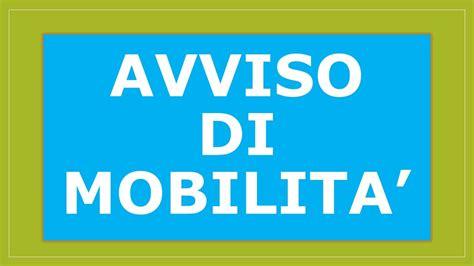richiesta di mobilità volontaria bando di mobilita volontaria per un posto di istruttore
