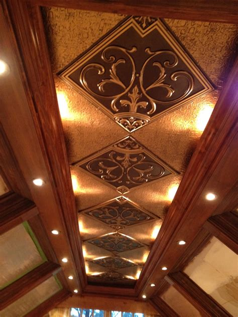 Faux Finish Kitchen Cabinets faux tin ceiling projects decorative ceiling tiles inc