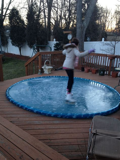 easy backyard ice rink easy backyard rink outdoor furniture design and ideas