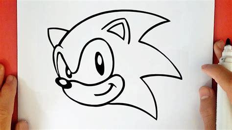 desenho para desenhar como desenhar o sonic