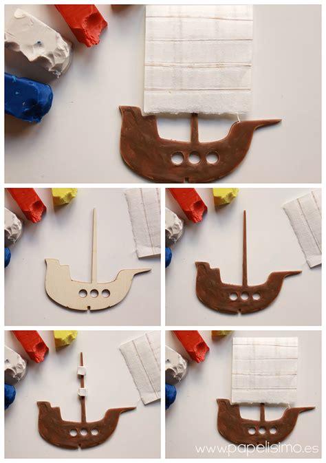 barco pirata hecho en carton teatro de cart 243 n para ni 241 os papelisimo