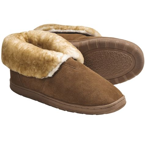 sheepskin lined slippers lamo bootie slippers for 4902r save 34