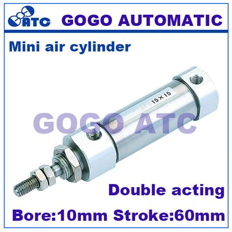 Pneumatic Cylinder Ral 25x100 Quality aliexpress buy high quality stainless steel small pneumatic actuator bore 10mm stroke 60mm