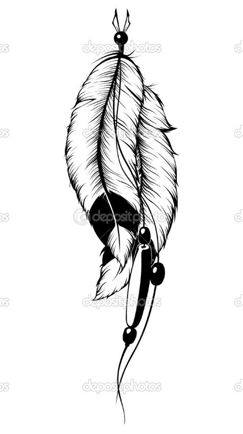 tribal feather tattoo designs best 25 indian feather tattoos ideas on