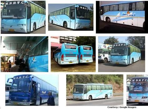 volvo from pune to mumbai mumbai to pune shivneri buses msrtc ac and non ac buses