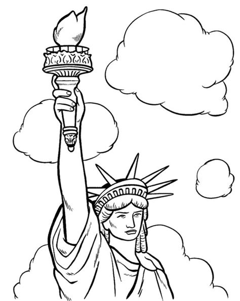 statue of liberty drawing template statue of liberty drawing template new building