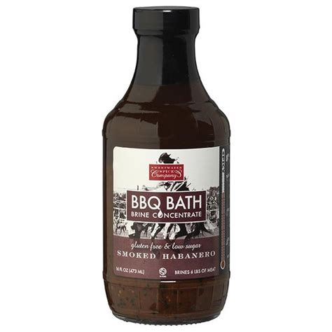 bbq bathrooms sweetwater spice smoked habanero bbq bath brine concentrate