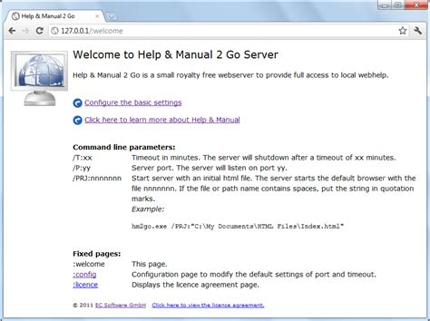 Download Help Manual 2 Go A Free Local Webhelp Server