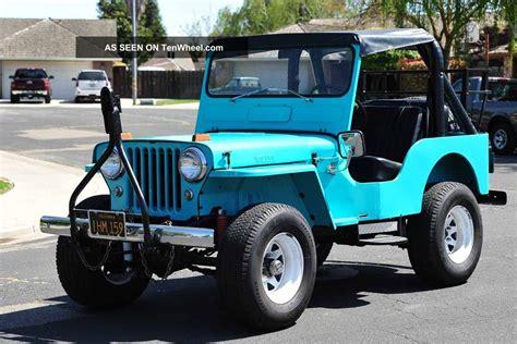 1960 Jeep Willys 1960 Willys Jeep Cj5 Running Gear 231 Buick V6 Warn