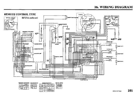 mercury outboard tachometer wiring diagram wiring diagrams