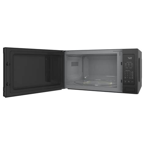 2 2 Cu Ft Countertop Microwave by Pes7227dlbbge Profile 2 2 Cu Ft 1100w Countertop Sensor