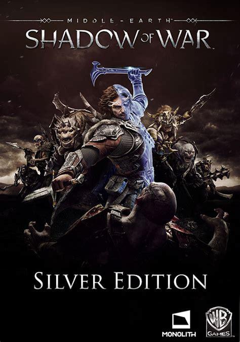 Middle Earth Shadow Of War Silver Edition Reg 3 Ps4 middle earth shadow of war silver edition pc digital