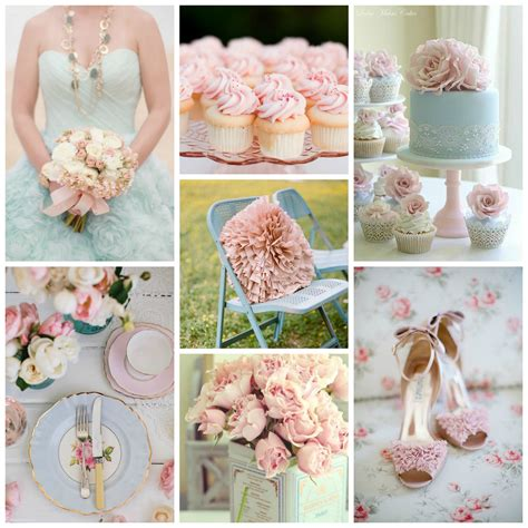 pink and blue wedding colors color palette idea pale pink pale blue burgh brides