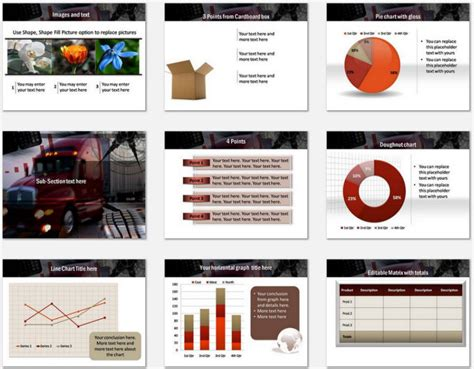 ppt templates free download logistics powerpoint advanced logistics template