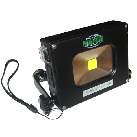 10w rechargeable flood light hydro glow sml0 10w personal flood light usb rechargeable