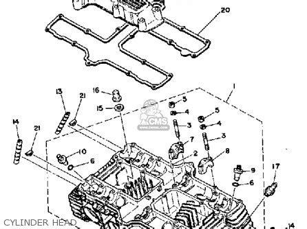 1981 yamaha xs650 special wiring diagram yamaha xs650