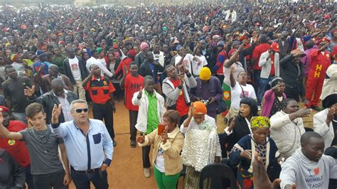 latest zambia watch dog photos of the day upnd takes rally to ndola zambian