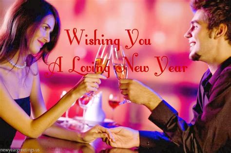 new year romantic greeting card for husband 2014 happy