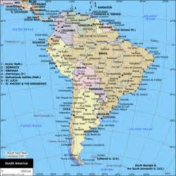 south america map with cities map of cities in south america south america planetolog