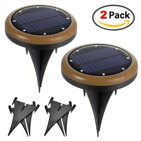Outdoor Ac 1 2 Pk Bekas 2 pack solar outdoor pathway lights deck nightlight path yard above ground walkway of item 107738407