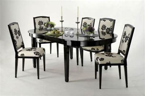 Black Painted Dining Room Tables Dining Room Tables