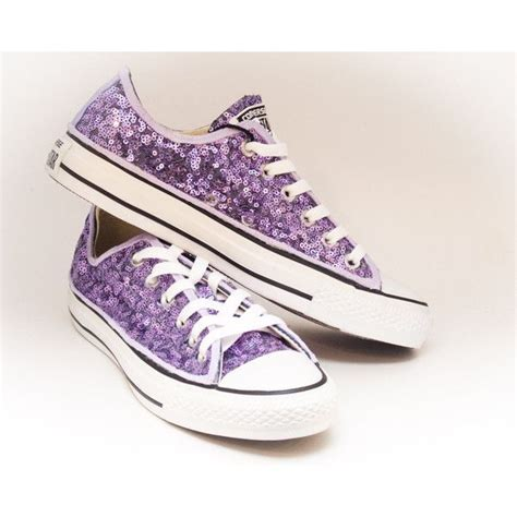 Purple Shoes by The 25 Best Rhinestone Converse Ideas On
