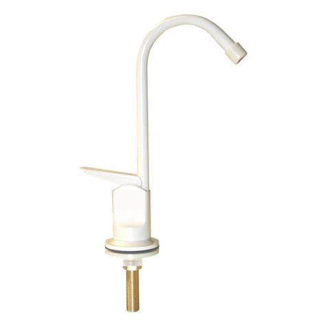 Almond Kitchen Faucet Water Filter Dispenser Faucet With Metal In Almond Finish Qe100a The Home Depot