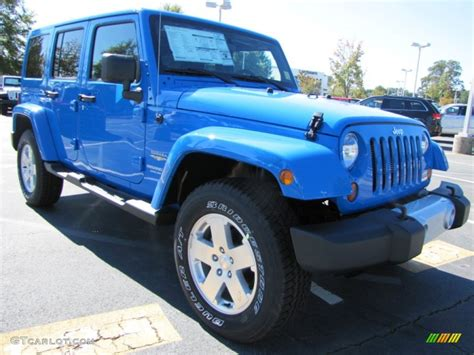 blue jeep wrangler unlimited cosmos blue 2012 jeep wrangler unlimited sahara 4x4