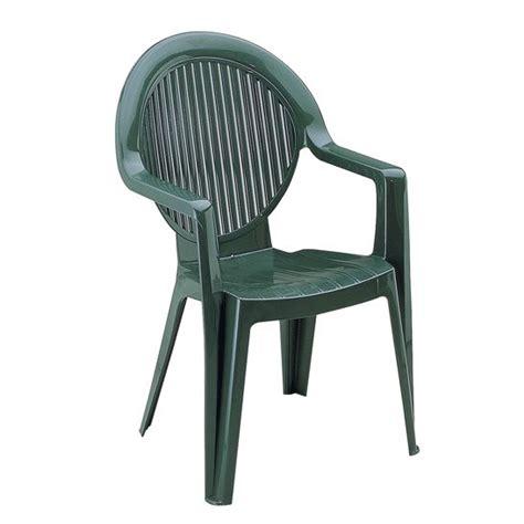 chaise de jardin plastique vert fauteuil fidji ii vert grosfillex achat vente fauteuil