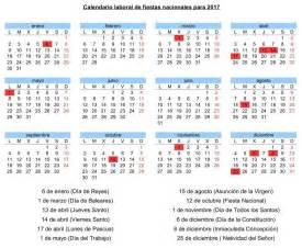 Calendario Festivos Madrid 2017 El Calendario Laboral Para 2017 Contar 225 Con 12 D 237 As