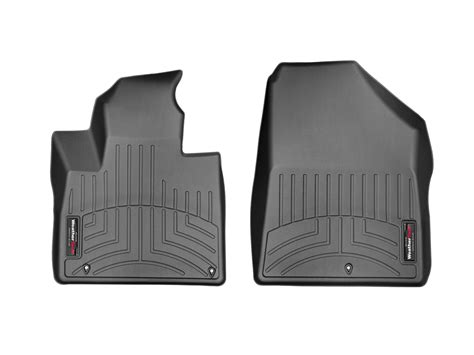 weathertech floor mats floorliner for kia sorento 2016 2017 1st row black ebay