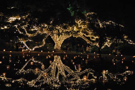 Brookgreen Gardens' Night of a Thousand Candles lights up