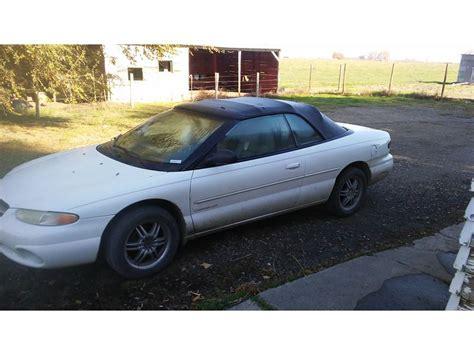 1997 chrysler sebring convertible for sale 1997 chrysler sebring for sale by owner in wapato wa 98951