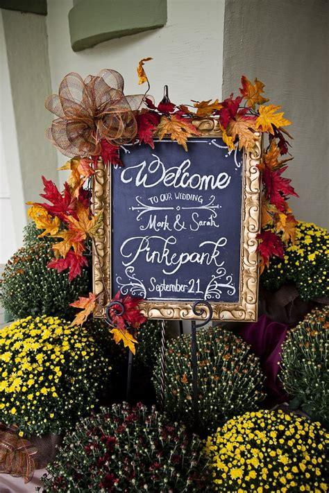 7 Ideas For A Fall Wedding by Best 25 Fall Wedding Mums Ideas On Autumn