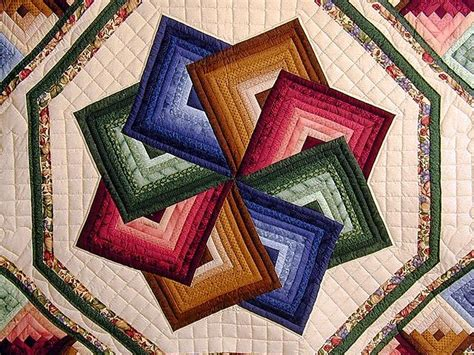 Amish Spin Quilt Pattern by Green And Multicolor Spin Quilt Photo 3 Quilting