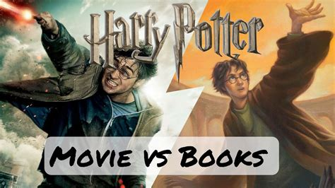 harry potter quiz film vs book harry potter book vs movie differences youtube