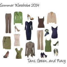 summer work wardrobe on work wardrobe