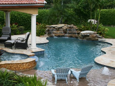 Backyard Wave Pool by In Ground Vs Above Ground Pools Hgtv