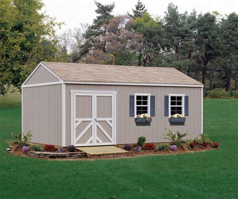 12x12 Shed by Handy Home Products Columbia 12x12 Storage Building Free