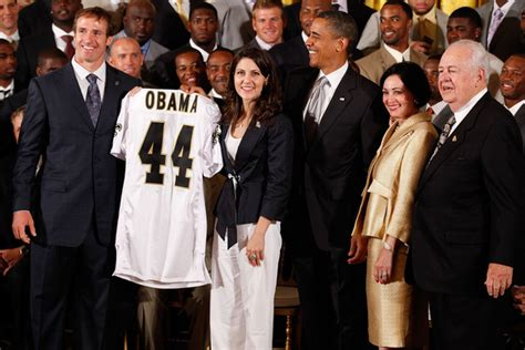 tom benson house tom benson in nfl chions new orleans saints visit president obama at white house