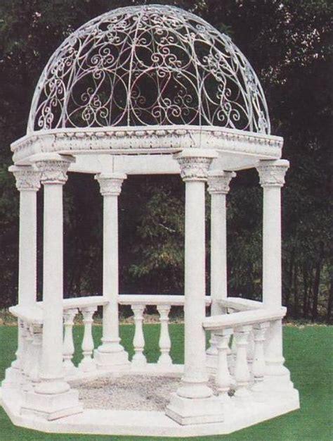gazebo in cemento gazebo in cemento bianco e marmo macinato