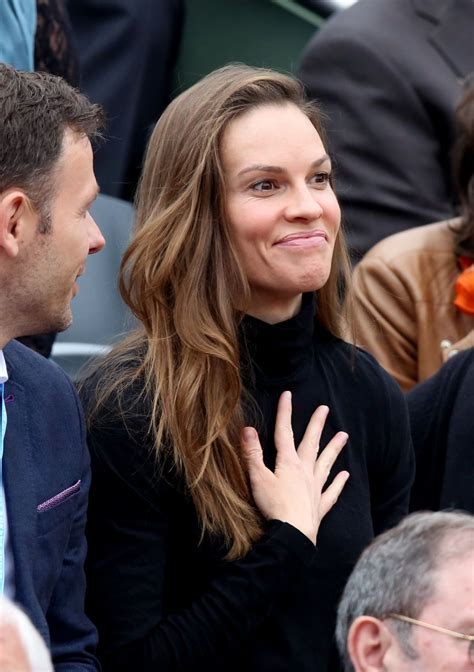Hilary Swank Opens Up by Hilary Swank 2016 Open Ultimate Of Roland Garros