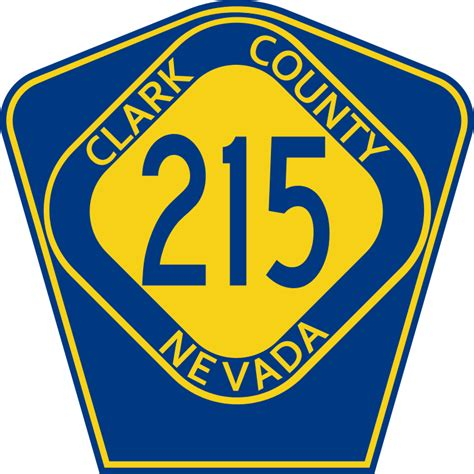 Clark County Nv Search File Clark County Route 215 Nv Svg Wikimedia Commons