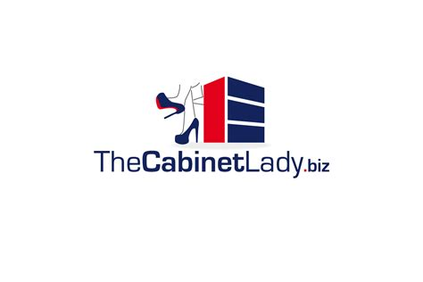kitchen cabinet logo playful personable logo design for the cabinet lady ehr