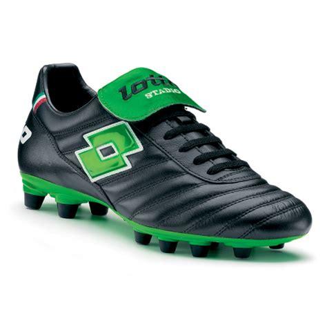 lotto shoes football lotto stadio fg black neon green soccerevolution