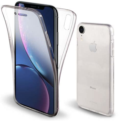 iphone xr 360 176 cover transparant tpu hoesje iphone xr goedhoesje nl