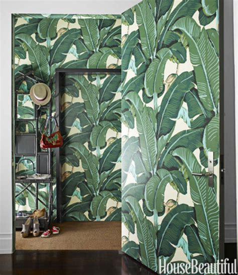 banana leaf wallpaper beverly hills hotel rosa beltran design martinique banana leaf wallpaper