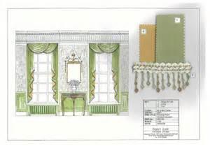 Sewing Drapery Panels Geoargian Drawing Room Window Elevation 001 Jpg 3508 215 2481