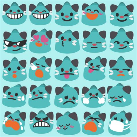 Discord Emoji Pack Download | bk s pokemon art the dewott android 4 4 emojis are now
