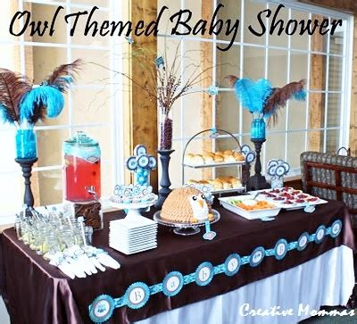 Owl themed baby shower decorations baby shower ideas themes